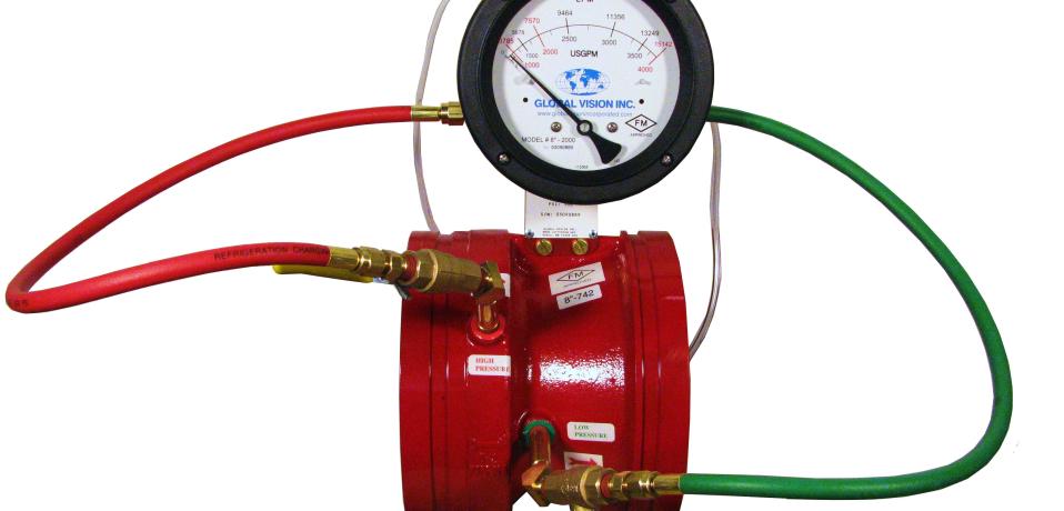 Global Vision Fire Pump Test Meters