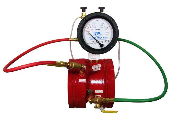 GVI Fire Pump Test Meters : Global Vision Inc
